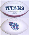 Tennessee Titans Full Size Logo Football