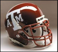 Texas A and M Aggies Full Size Replica Schutt Helmet