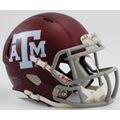 Texas A&M Aggies Matte Maroon Mini Speed Helmet