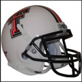 Texas Tech Raiders White Mini Authentic Schutt