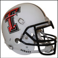 Texas Tech Red Raiders Authentic White Schutt Football Helmet