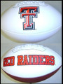 Texas Tech Red Raiders Full Size Signature Embroidered Football