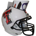Texas Tech Red Raiders Mini Football Helmet Desk Caddy White