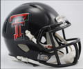 Texas Tech Red Raiders Riddell NCAA Mini Speed Football Helmet
