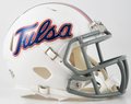 Tulsa Golden Hurricane Mini Speed Helmet
