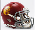 USC Southern Cal Riddell NCAA Mini Speed Football Helmet