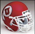 Utah Utes Full Size Authentic Schutt Helmet