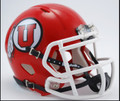 Utah Utes Riddell NCAA Mini Speed Football Helmet