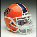 UTEP Miners Mini Authentic Schutt Helmet