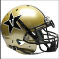Vanderbilt Commodores Authentic College XP Gold Football Helmet