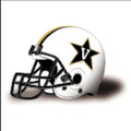 Vanderbilt Commodores Authentic College XP White Football Helmet
