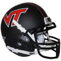 Virginia Tech Hokies Black Mini Authentic Schutt Helmet