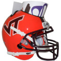 Virginia Tech Hokies Mini Football Helmet Desk Caddy Orange