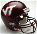 Virginia Tech Hokies Full Size Replica Helmet