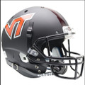 Virginia Tech Hokies Full XP Replica Football Helmet Schutt Black