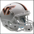 Virginia Tech Hokies Full XP Replica Football Helmet Schutt White