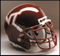 Virginia Tech Hokies Mini Authentic Schutt Helmet