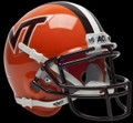 Virginia Tech Hokies Orange Mini Authentic Schutt Helmet