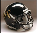 Wake Forest Demons Full Size Replica Schutt Helmet