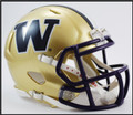 Washington Huskies Riddell NCAA Mini Speed Football Helmet