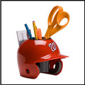 Washington Nationals Mini Helmet Desk Caddy