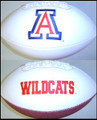 Arizona Wildcats Full Size Signature Embroidered Series Football