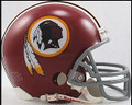 Washington Redskins 1972-77 Throwback Mini Replica Z2B Helmet