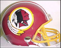 Washington Redskins 1982 Throwback Z2B Mini Replica Helmet