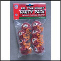Washington Redskins Gumball Helmet Party Pack