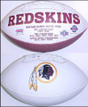 Washington Redskins Full Size Logo Football