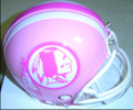 Washington Redskins Mini Replica Pink Helmet