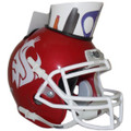 Washington State Cougars Mini Football Helmet Desk Caddy Alt