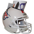 Arizona Wildcats Mini Football Helmet Desk Caddy White