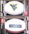 West Virginia Mountaineers Full Size Signature Embroidered Football