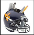 West Virginia Mountaineers Helmet Desk Caddy