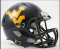 West Virginia Mountaineers Riddell NCAA Mini Speed Football Helmet