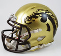 Western Michigan Broncos Riddell NCAA Mini Speed Helmet