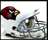 Arizona Cardinals Full Size Authentic Helmet