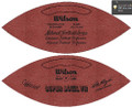 Wilson Official Super Bowl 7 Football Dolphins vs Redskins