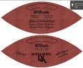 Wilson Official Super Bowl 9 Football Steelers vs Vikings