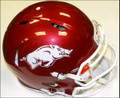 Arkansas Razorbacks Authentic Revolution Speed Football Helmet