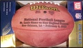 Wilson Official Super Bowl 36 XXXVI Football