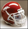 Arkansas Razorbacks Full Size Authentic Schutt Helmet