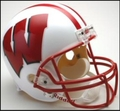 Wisconsin Badgers Full Size Replica Helmet