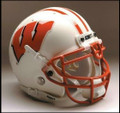 Wisconsin Badgers Full Size Replica Schutt Helmet