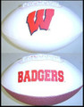 Wisconsin Badgers Full Size Signature Embroidered Series Football