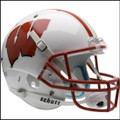 Wisconsin Badgers Full XP Replica Football Helmet Schutt