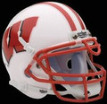 Wisconsin Badgers Mini Authentic Schutt Helmet