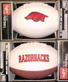 Arkansas Razorbacks Full Size Signature Embroidered Series Football