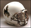 Wyoming Cowboys Full Size Replica Schutt Helmet